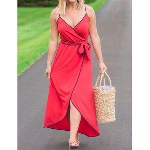 NWT Felicity & Coco Becca Faux Wrap Dress